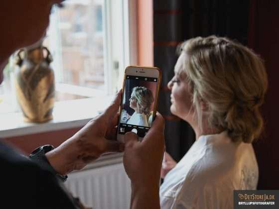 bryllupsfotograf aarhus brudens klargoering