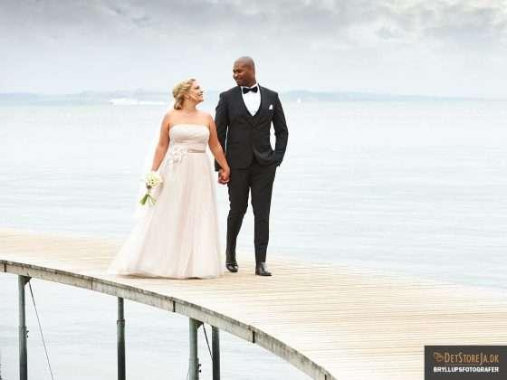 bryllupsfotograf aarhus brudepar bro Danmarks bedste tilbud på bryllupsfotograf