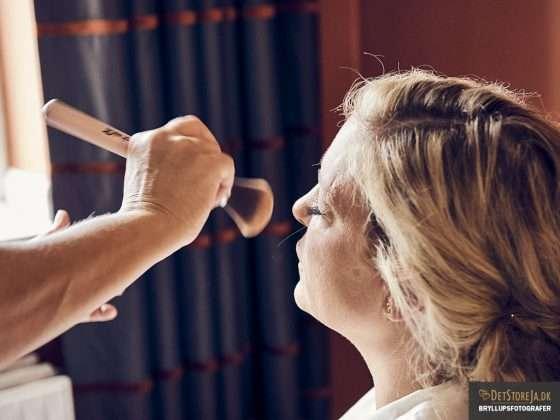 bryllup brud forberedelse make up