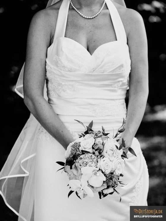 brud uden ansigt bryllupsbillede
