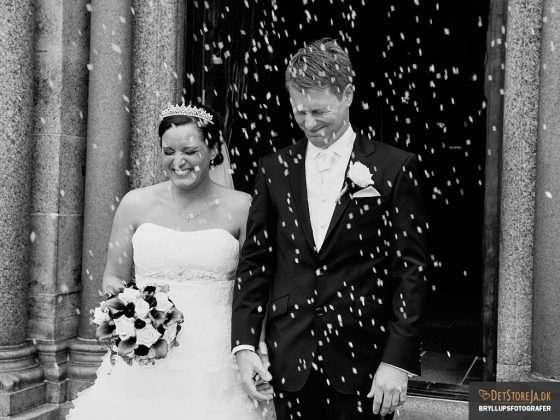 bryllupsfotograf brudepar mange ris