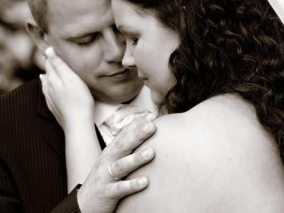 bryllupsfotograf bryllupsbillede intimt øjeblik