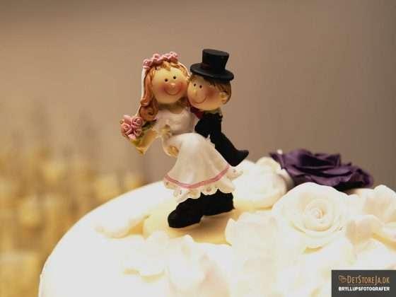bryllupskage kransefigur