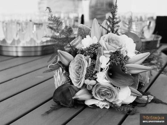 bryllupsfotograf buket og drinks