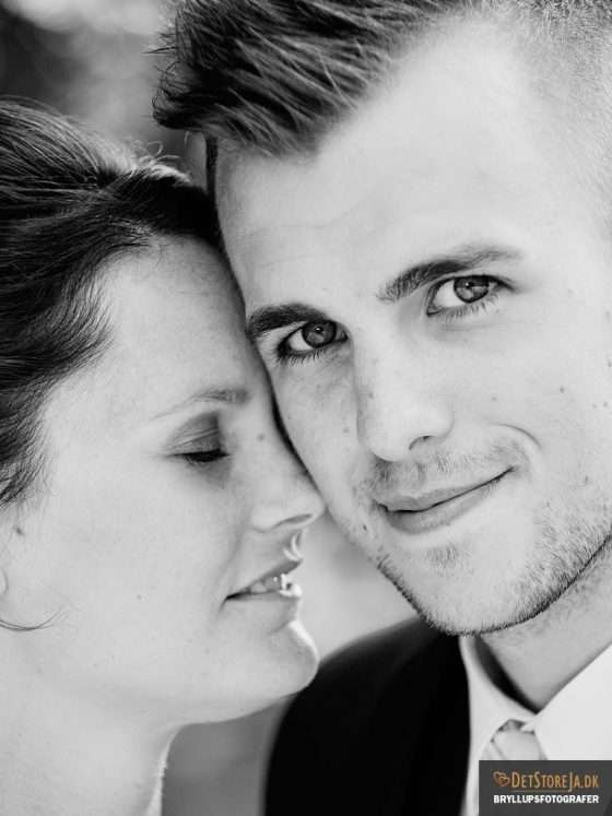 bryllupsfotograf close up af gom