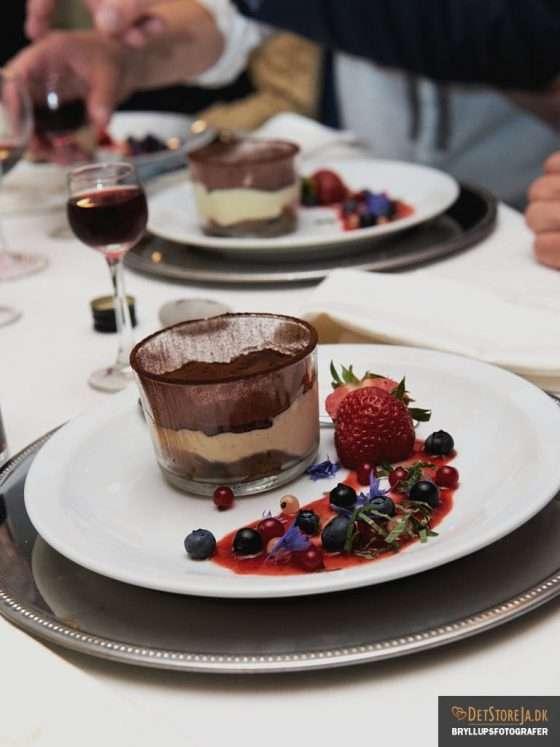 bryllupsbillede detalje dessert