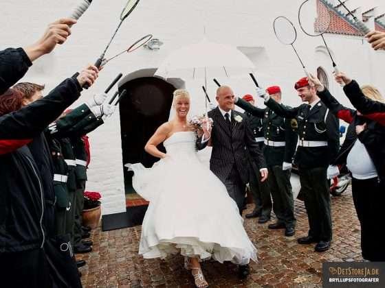 bryllupsbillede espalier
