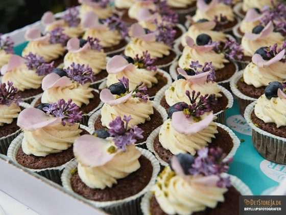 bryllup muffins reception