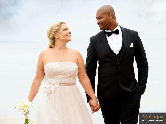 fotograf aarhus bryllup brudepar