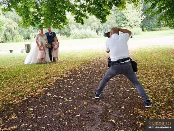 bryllup behind the scenes