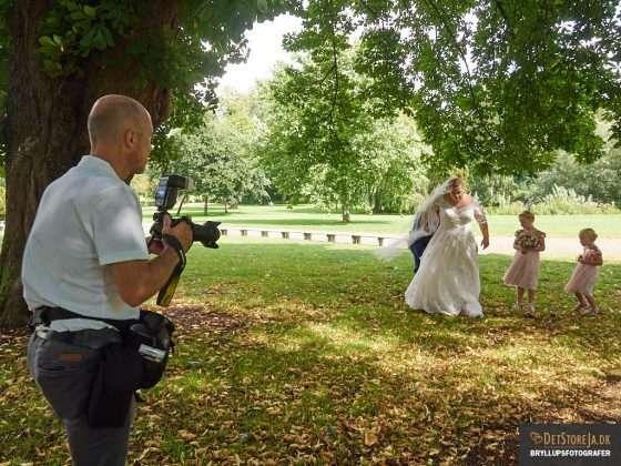 bryllup fotograf arbejde