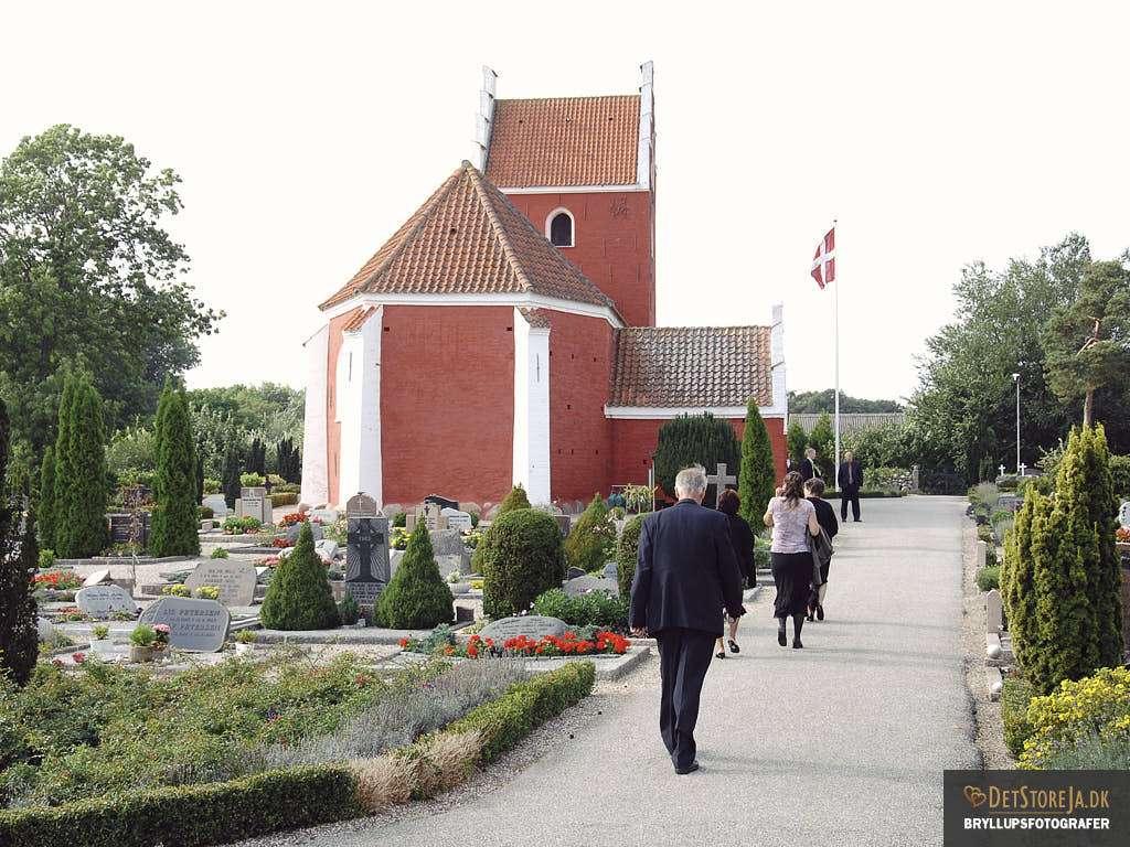 bryllup læsø byrum kirke