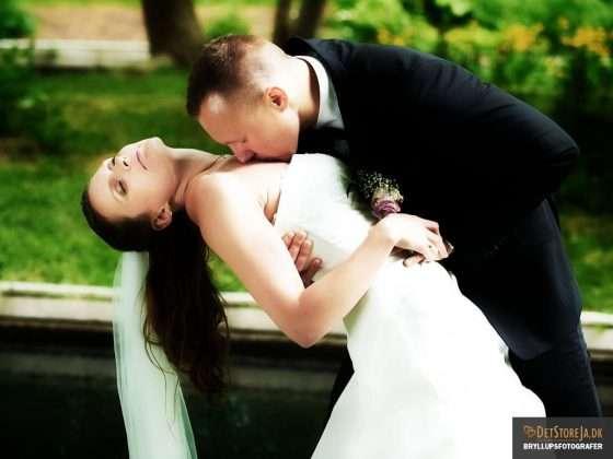 bryllupsbillede viborg brud