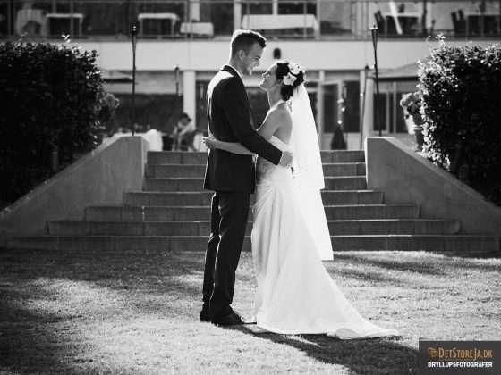 bryllupsfotograf aalborg brudepar scheelsminde