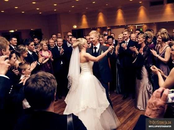 bryllupsfotograf aalborg hvide hus brudevalsen