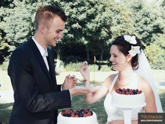 bryllupsfotograf aalborg scheelsminde bryllupskage
