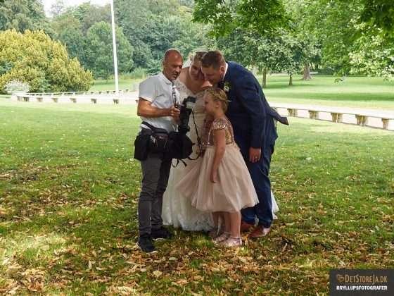 bryllupsfotograf arbejde