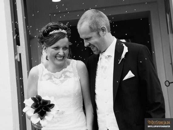 bryllupsfotograf horsens hatting kirke