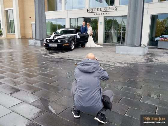 bryllupsfotograf horsens på arbejde horsens