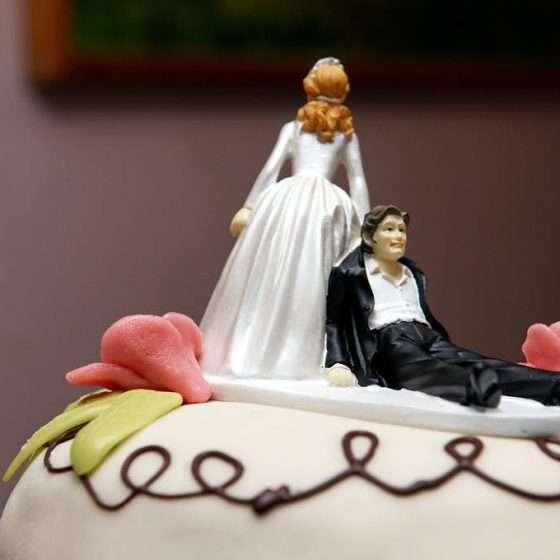 bryllupsfotograf aarhus kagefigur
