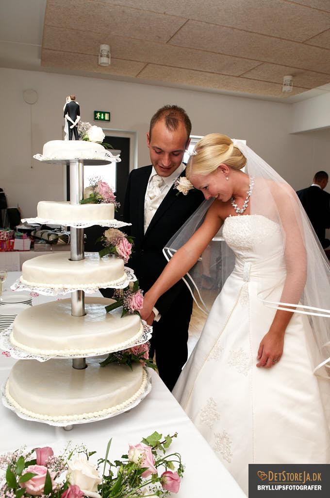 bryllupskager for en kvart million