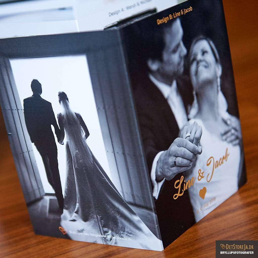 takkekort fotograf bryllup